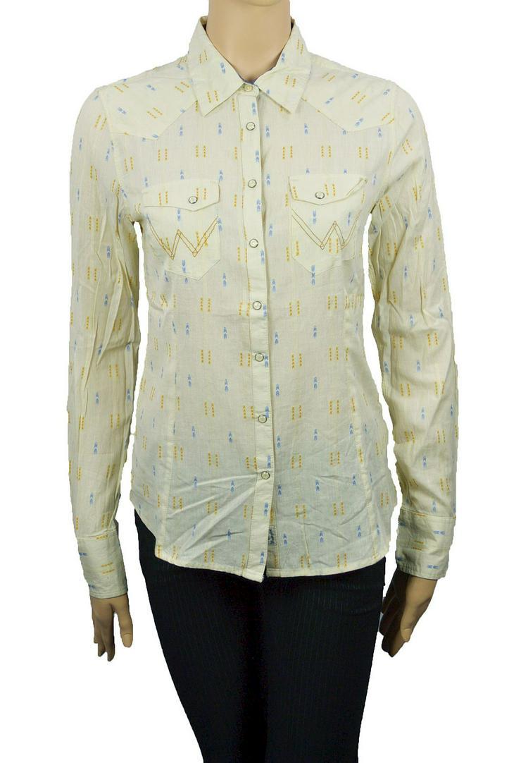 Wrangler Damen Bluse Gr.S Hemd Shirt Blusen Hemden Shirts 3-1288 - Größen 36-38 / S - Bild 1