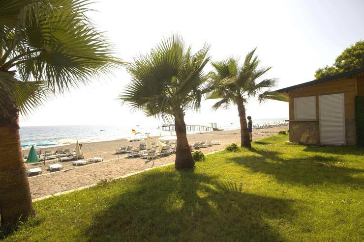 Türkei, Alanya. 3 Zi. 1 Reihe am Strand. 408