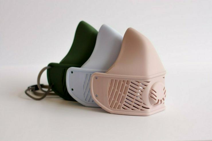 Wiederverwendbare medizinische Silikon Maske/Respirator mit FFP3/N99 (FFP2/N95/KN95) Filtern