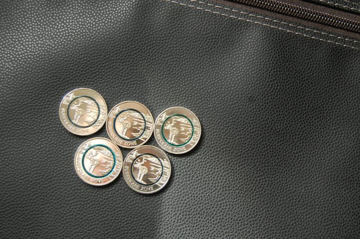 5 Euro Münzen Satz F,D,G,J,A