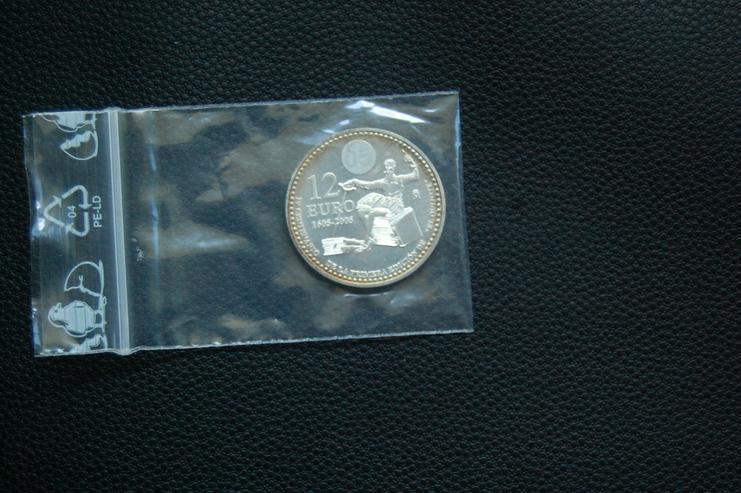 12 Euro Münze Silber Spain Juan Carlos