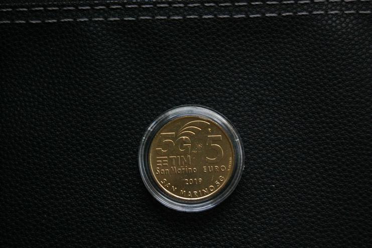 5 Euro Münze San Marino 5 G
