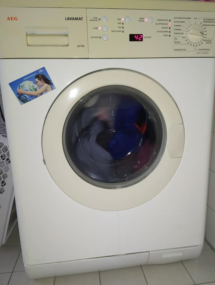 Sehr gute Waschmaschine AEG Lavamat 62730 von privat bis 22.10.20