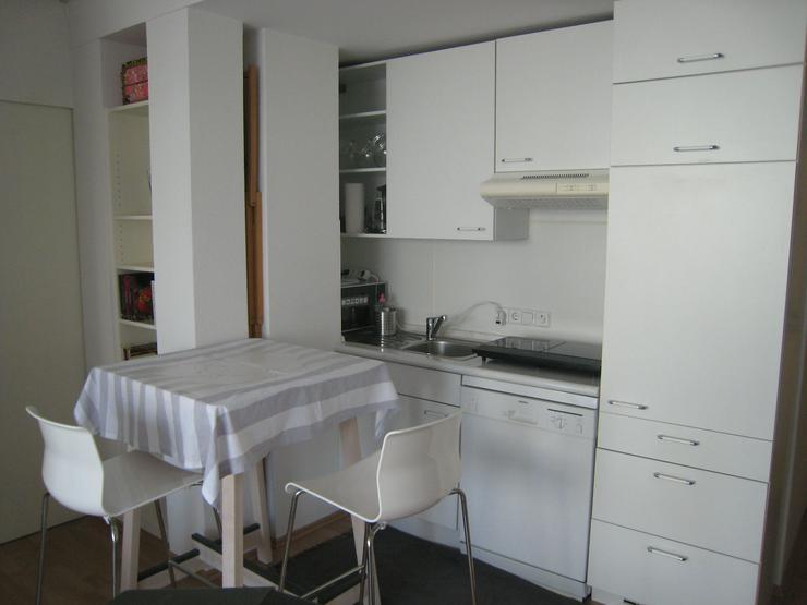 Bild 4: Möbliertes 2-Zi-Apartment mit großer Terrasse in ruhiger zentraler Lage in Feuerbach