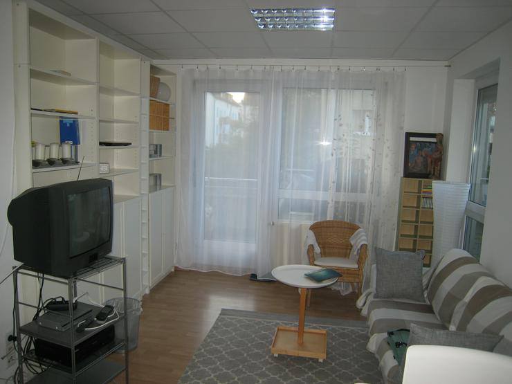 Möbliertes 2-Zi-Apartment mit großer Terrasse in ruhiger zentraler Lage in Feuerbach