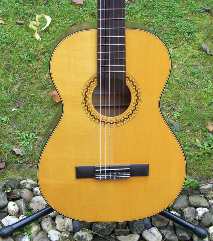 Verkaufe schöne ¾ Konzertgitarre klassische Nylonsaiten Gitarre im Vogelsberg