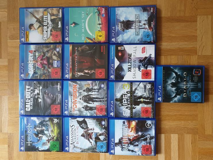 PS4 Spiele - PlayStation Games - Bild 1