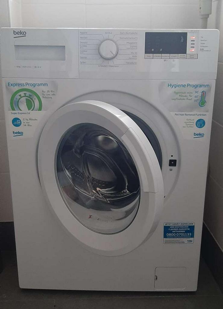 BEKO WML 61433 NP Waschmaschine (6 kg, 1400 U/Min.)