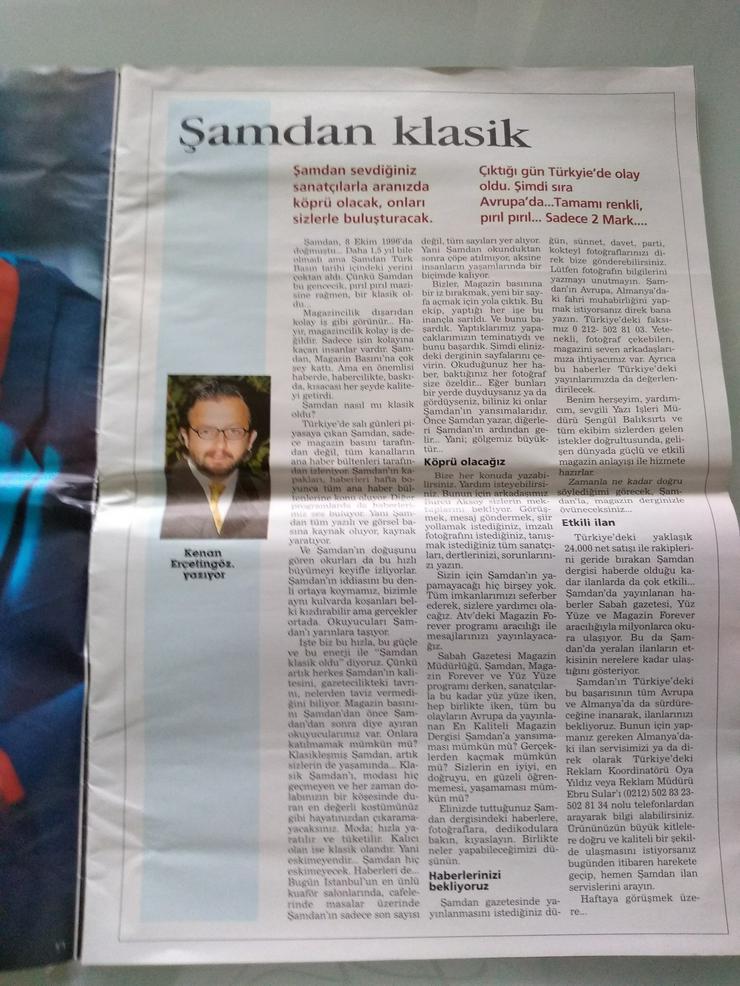 Bild 3: Zeitschrift Samdan von 1998