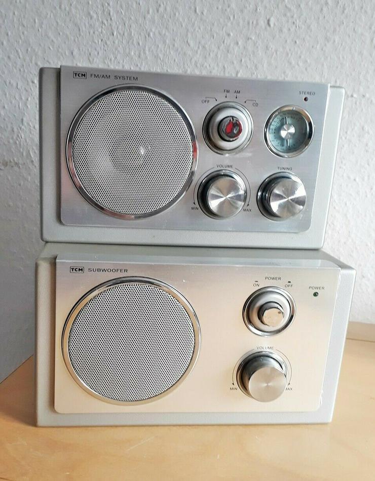 TCM 226689 FM/AM SYSTEM Stereoanlage mit SUBWOOFER