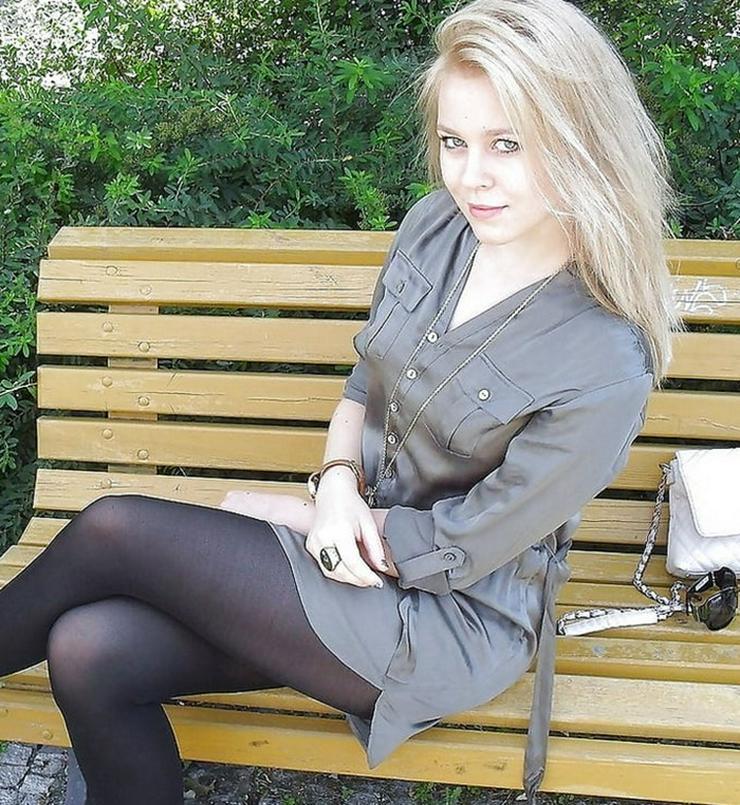 junge Blondine sucht Beziehung