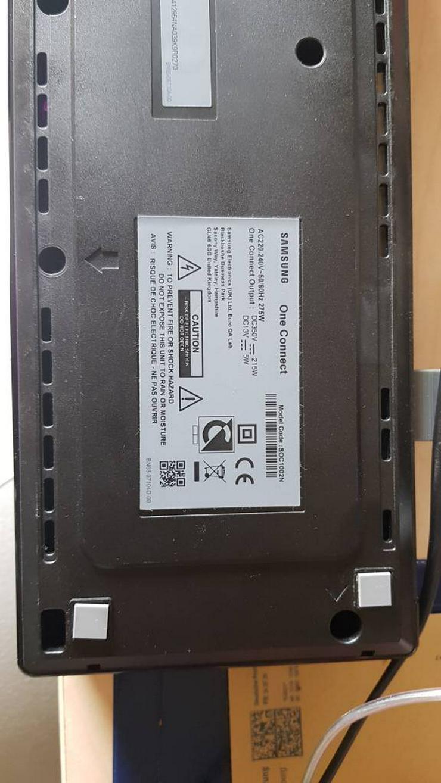 One Conect Box von Samsung TV 2018 - 25 bis 45 Zoll - Bild 1