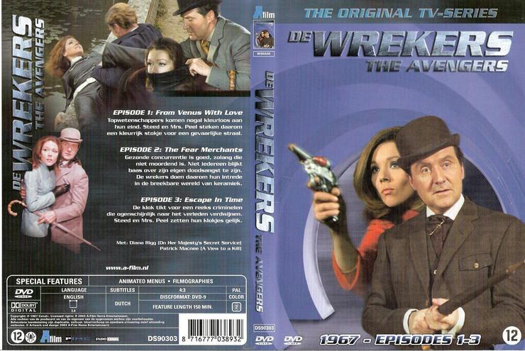 DE WREKERS   THE AVENGERS   NOSTALGIE PUR! EMMA PEEL & JOHN STEED