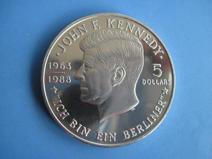 5 Dollar Neuseeland 1988 John F. Kennedy