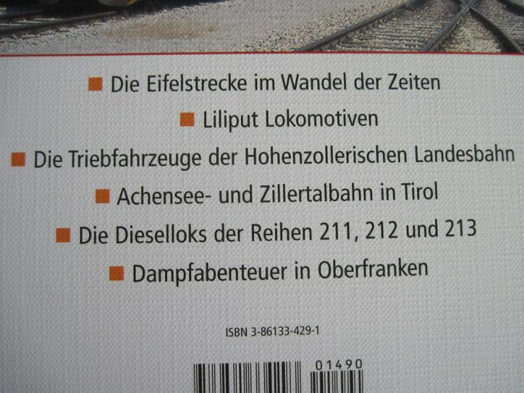 Bild 3: Jahrbuch 2007 Lokomotiven, für Freunde der Eisenbahn und Modellbau
