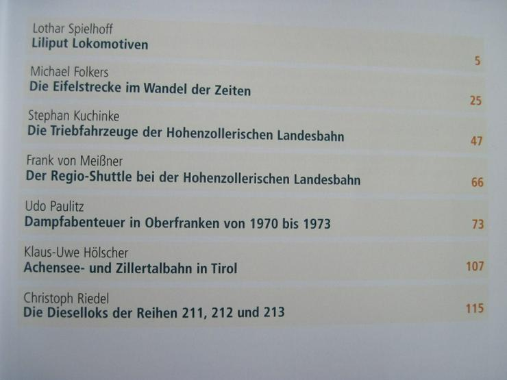 Bild 4: Jahrbuch 2007 Lokomotiven, für Freunde der Eisenbahn und Modellbau