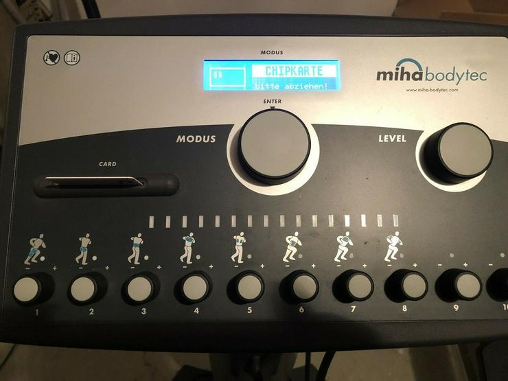 Bild 4: Miha Bodytec Ems Gerät Station Elektro Stimulations