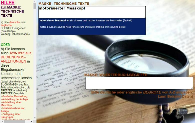 Bild 5: Technisches Englisch Woerterbuch