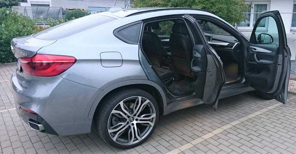 BMW X6 xDrive40d; M-Paket; AHK; Glasdach; TOP ANGEBOT; Allrad