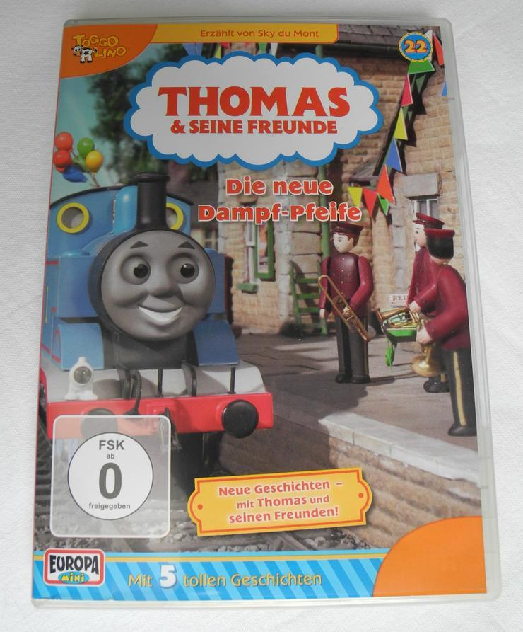 DVD Thomas und seine Freunde - 22 - Die neue Dampf-Pfeife