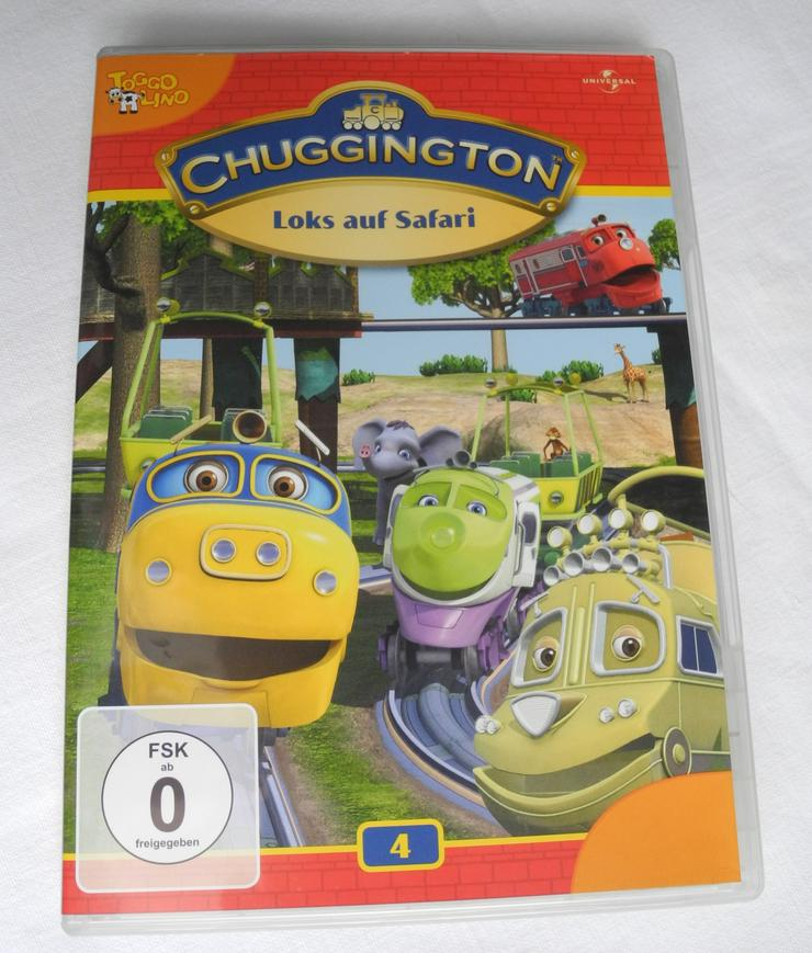 DVD Chuggington 4 - Loks auf Safari