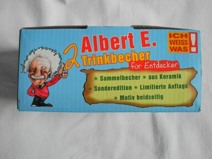 Bild 2: 2 Albert Einsten Trinkbecher