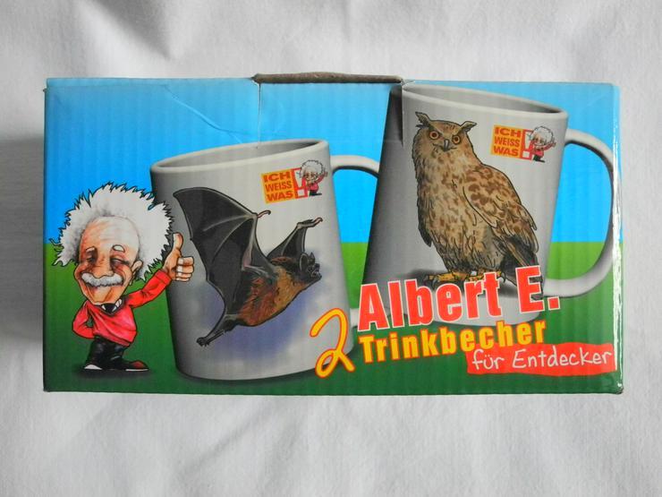 2 Albert Einsten Trinkbecher - Sets - Bild 1