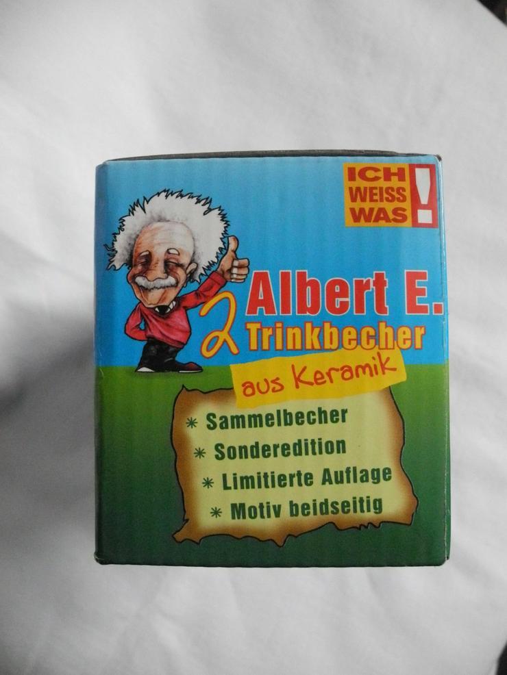 Bild 4: 2 Albert Einsten Trinkbecher