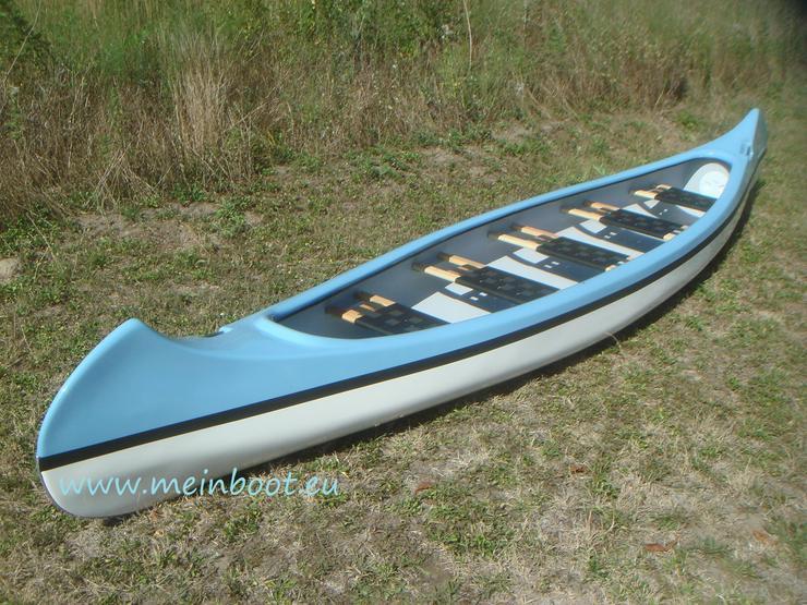 Kanu 5er Kanadier 550 Neu ! in hellblau /weiß