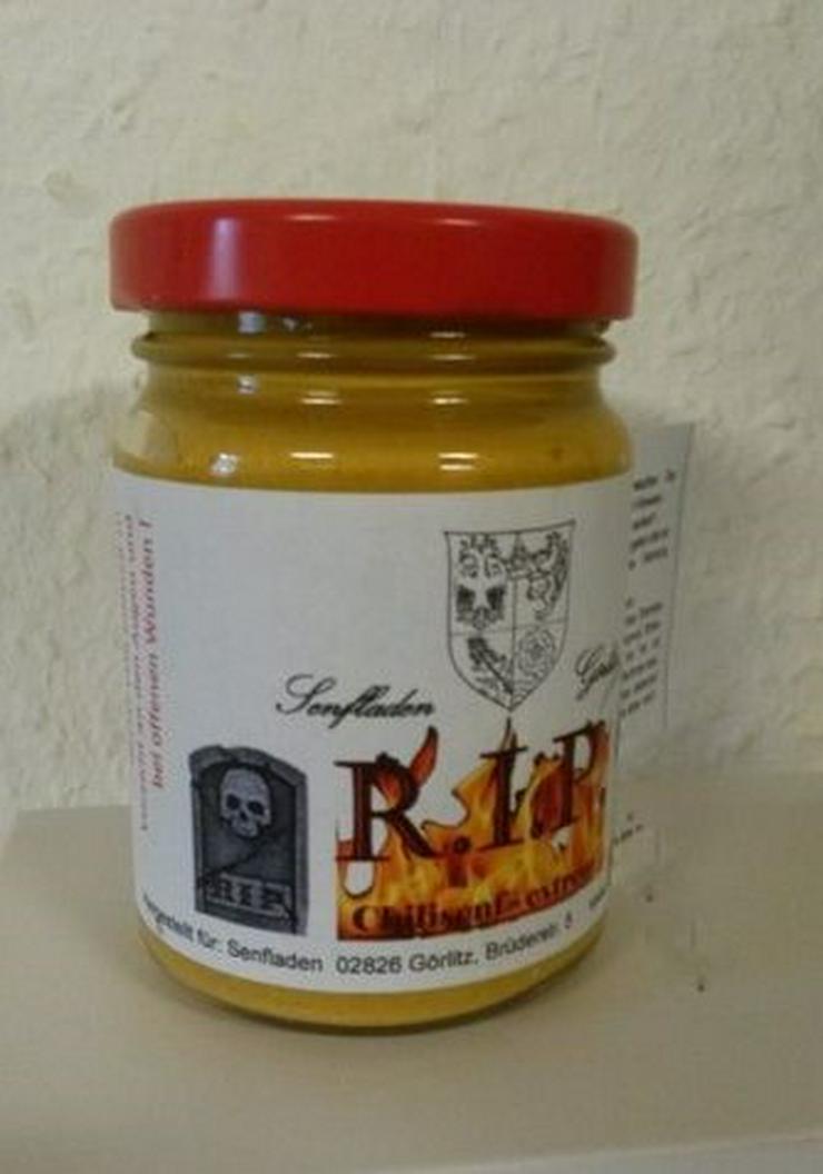 Chili Senf R.I.P.  Carolina Reaper  sehr sehr scharf - Sonstiges - Bild 1