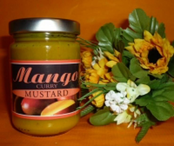 Mango Curry Mustard --145ml - Senf fruchtig süß