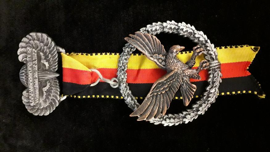 Wander-Medaille 4. IVV Wanderung Wiesenfeld 1977