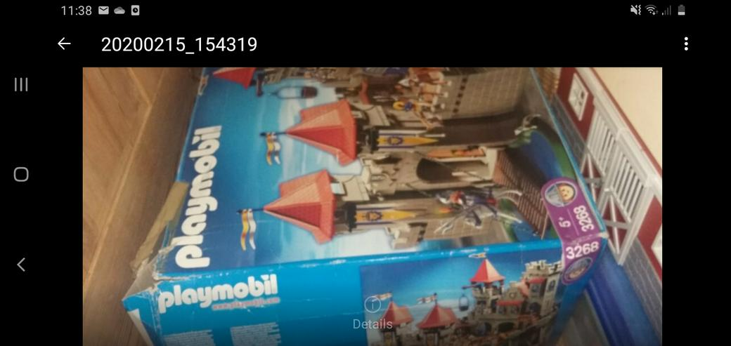 Playmobil  Große Ritterburg 3268 im Originalkarton