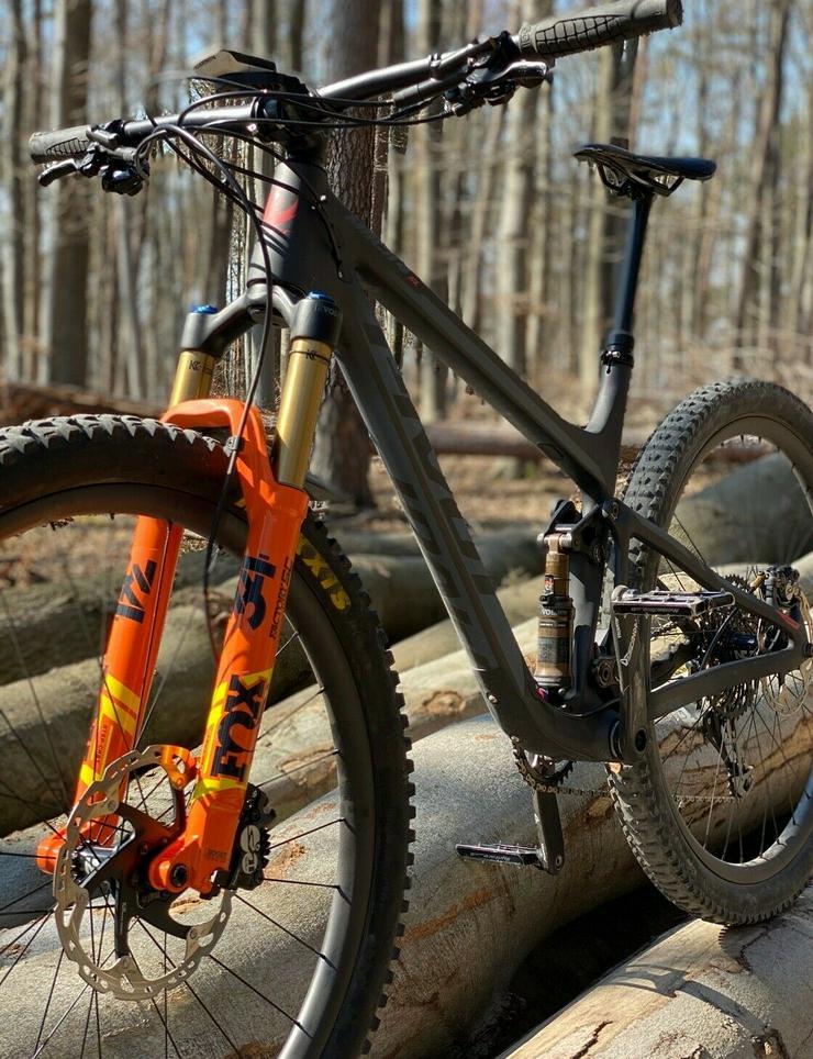 Fahrrad Pivot Mach 4sl 2020 Fox factory 34 Carbon Laufräder 12kg grösse L