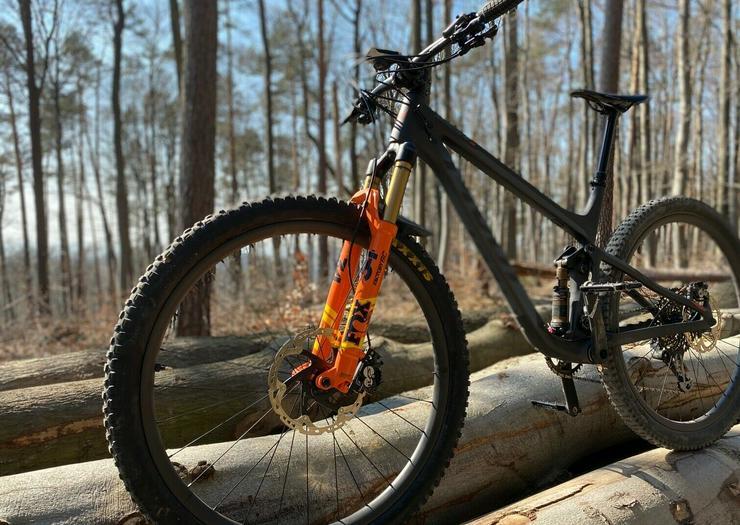 Bild 3: Fahrrad Pivot Mach 4sl 2020 Fox factory 34 Carbon Laufräder 12kg grösse L