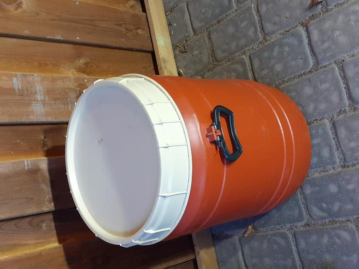 Wasserdichtes Fass mit Schraubdeckel Griffen 60 L