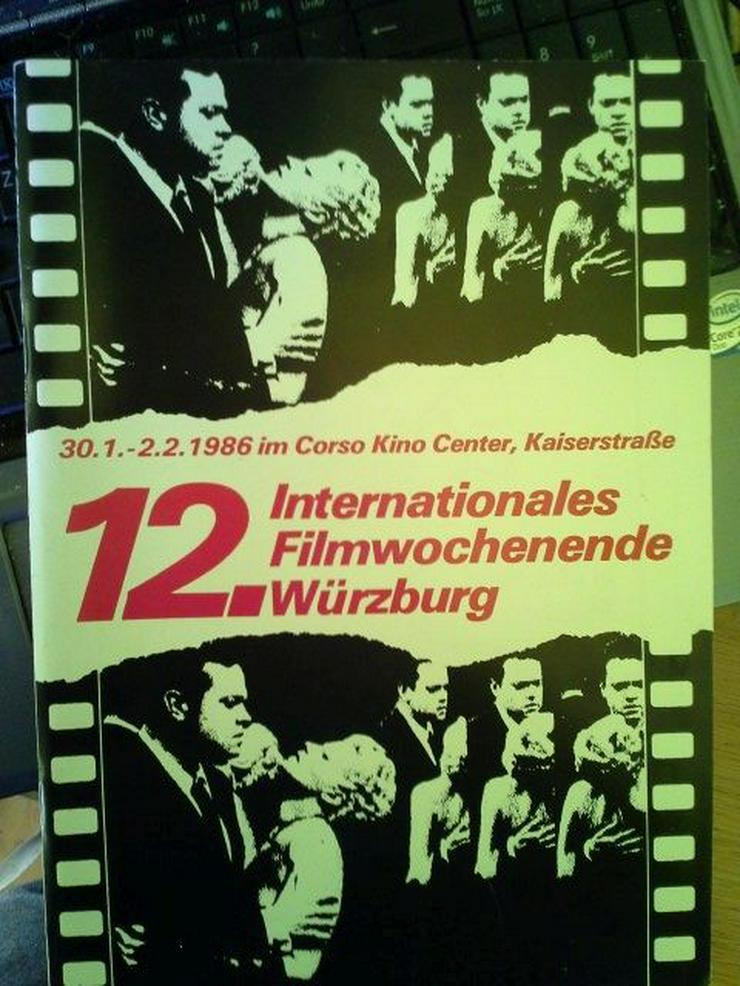 Würzburg 1986 Film Programmheft  12. Intern Filmwochenende