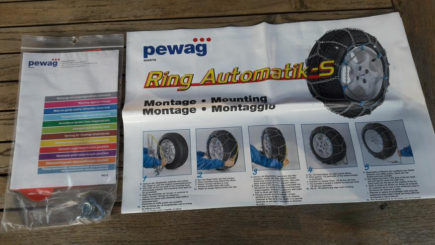 PEWAG Schneeketten Ring Automatik LM73 SB