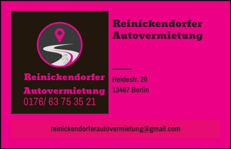 Reinickendorfer Autovermietung günstige Mietwagen zu fairen Preisen