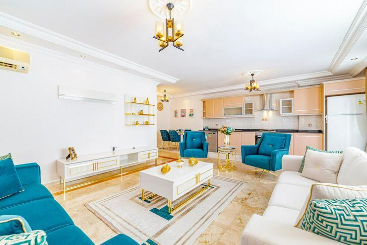 Bild 2: Türkei, Alanya, 3 Zi. Wohnung mit ein wenig Meerblick, 415