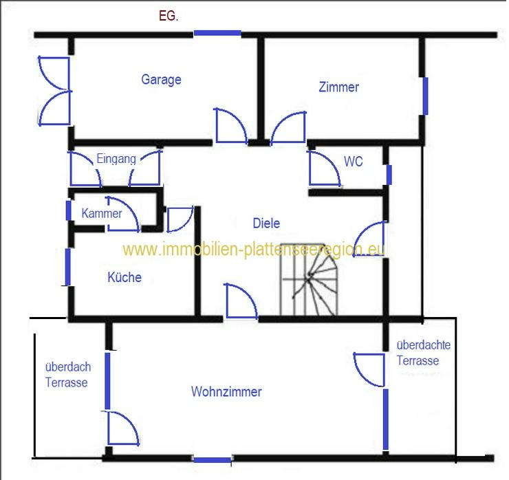 Bild 5: Großes Haus Nr. 40/61  Ungarn Balatonr. Grdst. 990 m²