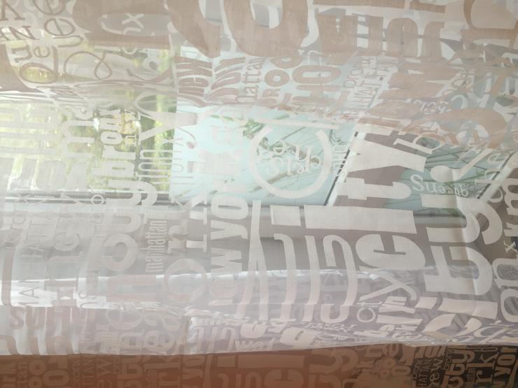 Bild 2: 2 Vorhänge a`140 x 246 cm zu verkaufen