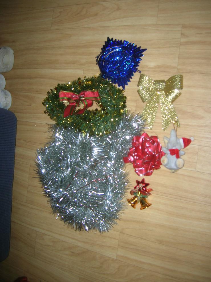 Weihnachtskranz & Deko Top-Zustand