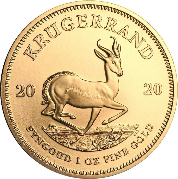 Bild 3: Südafrika Krügerrand 2020 1 Unze Gold