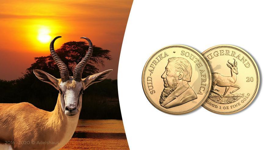 Südafrika Krügerrand 2020 1 Unze Gold