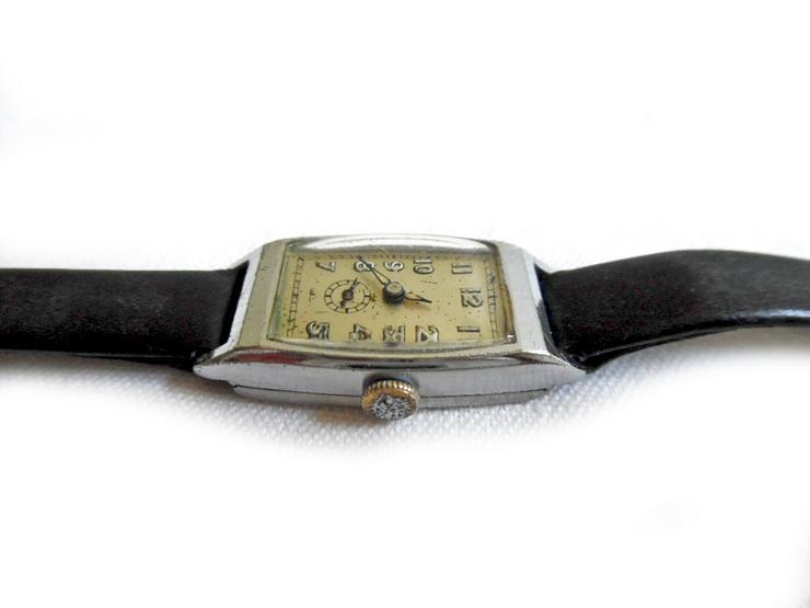 Bild 3: Seltene Art Deco Armbanduhr