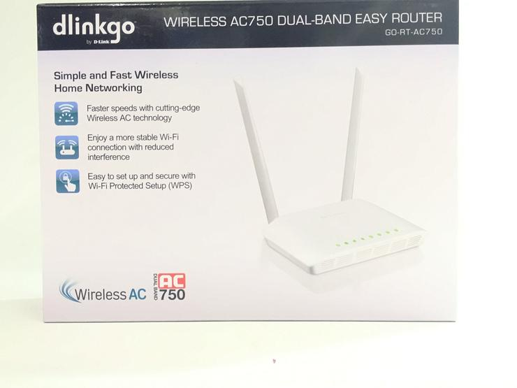 Wireless Router dlinkgo AC750 Dual-Band Easy Router Home Networking