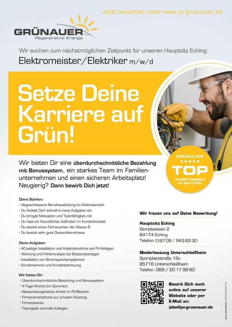 Elektromeister/Elektriker m/w/d
