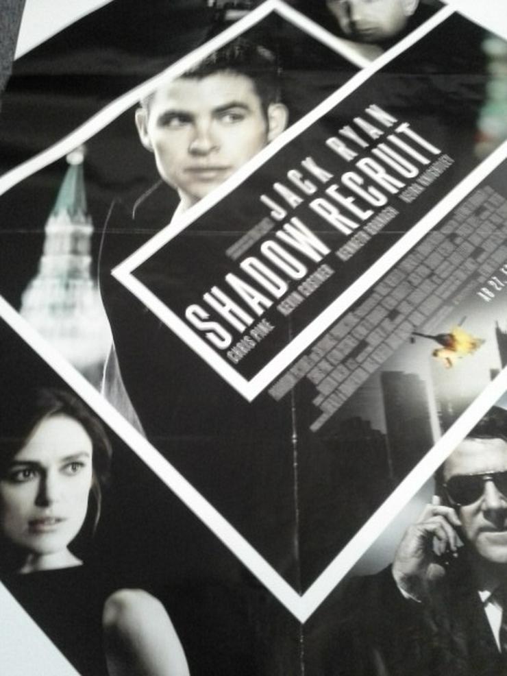 Kevin Costner 2014 A1 Orginal Plakat Jack Ryan: Shadow Recruit