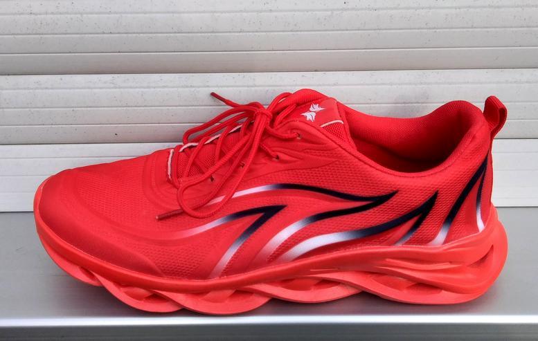 Utraleicht-Sneaker mit extrem breiter Anti-Umknick-Sohle - Größe 45 - Bild 1